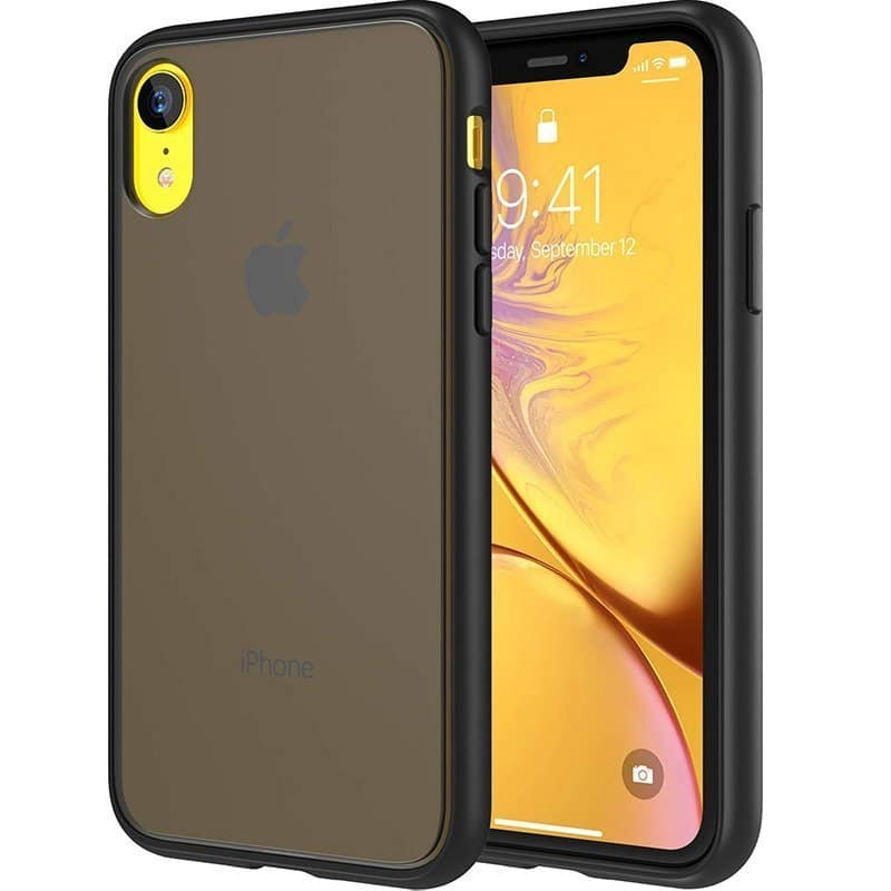 iphone xr frosted case