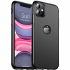 iphone 11 matte case logo out