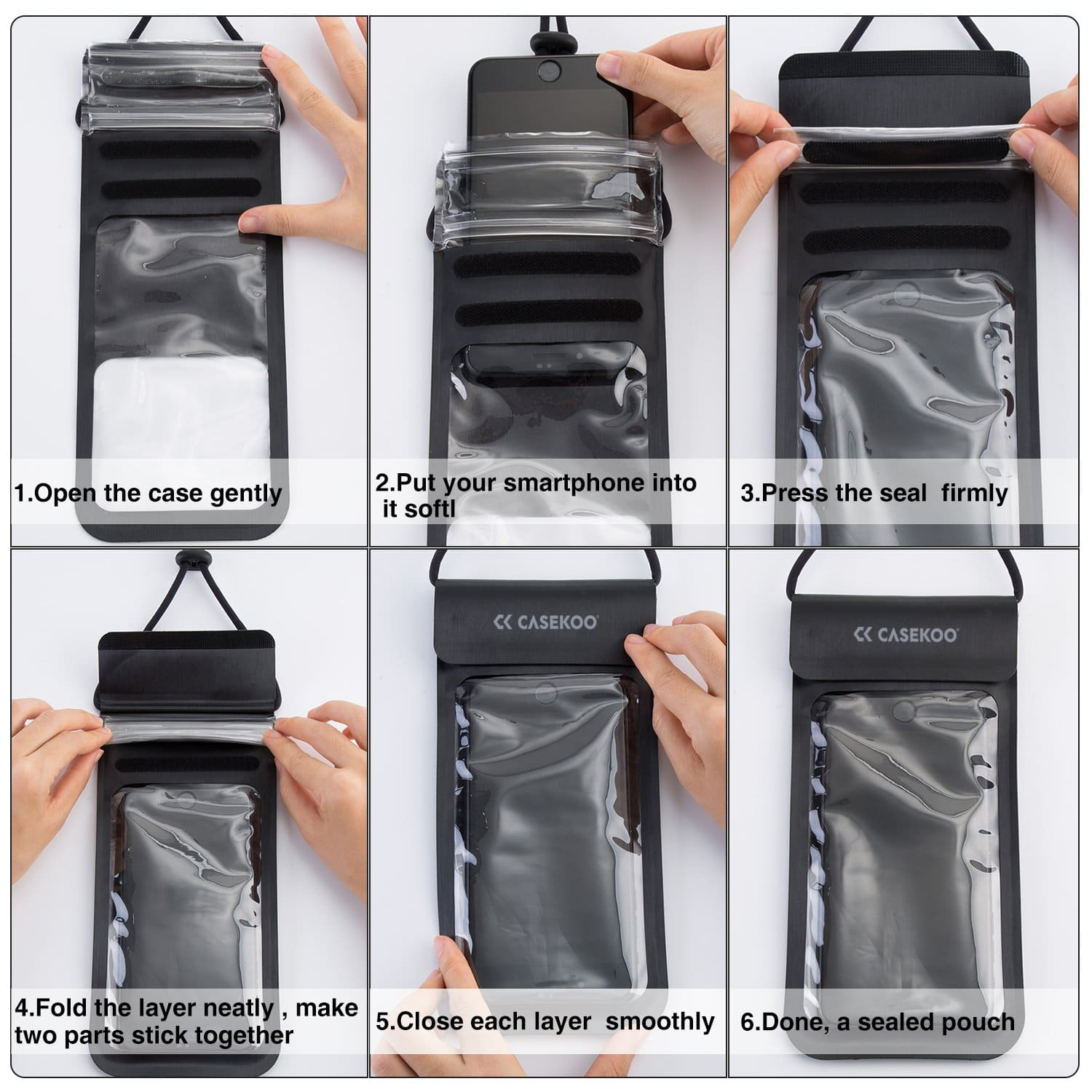 casekoo waterproof bag