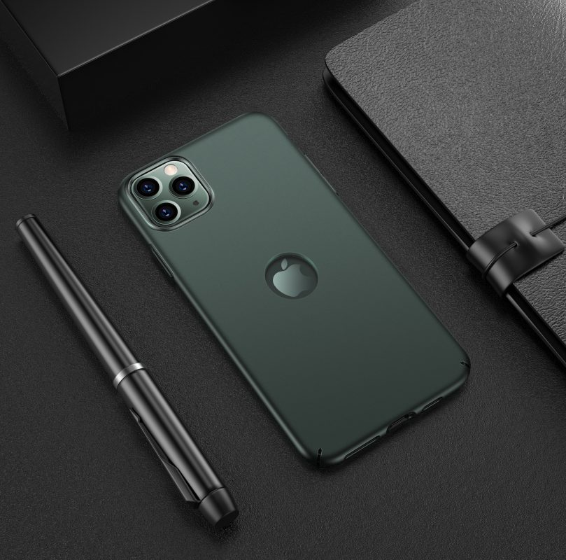CASEKOO iPhone 11 Matte Case Midnight Green With Logo
