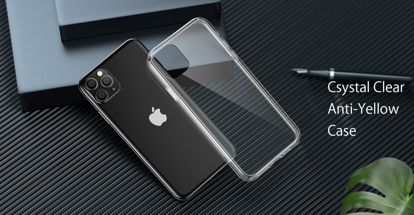 CASEKOO iPhone 11 Pro Clear Protective Case
