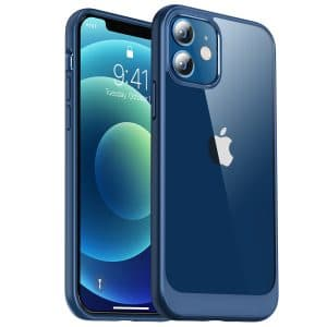 iphone 12 hard protective case blue