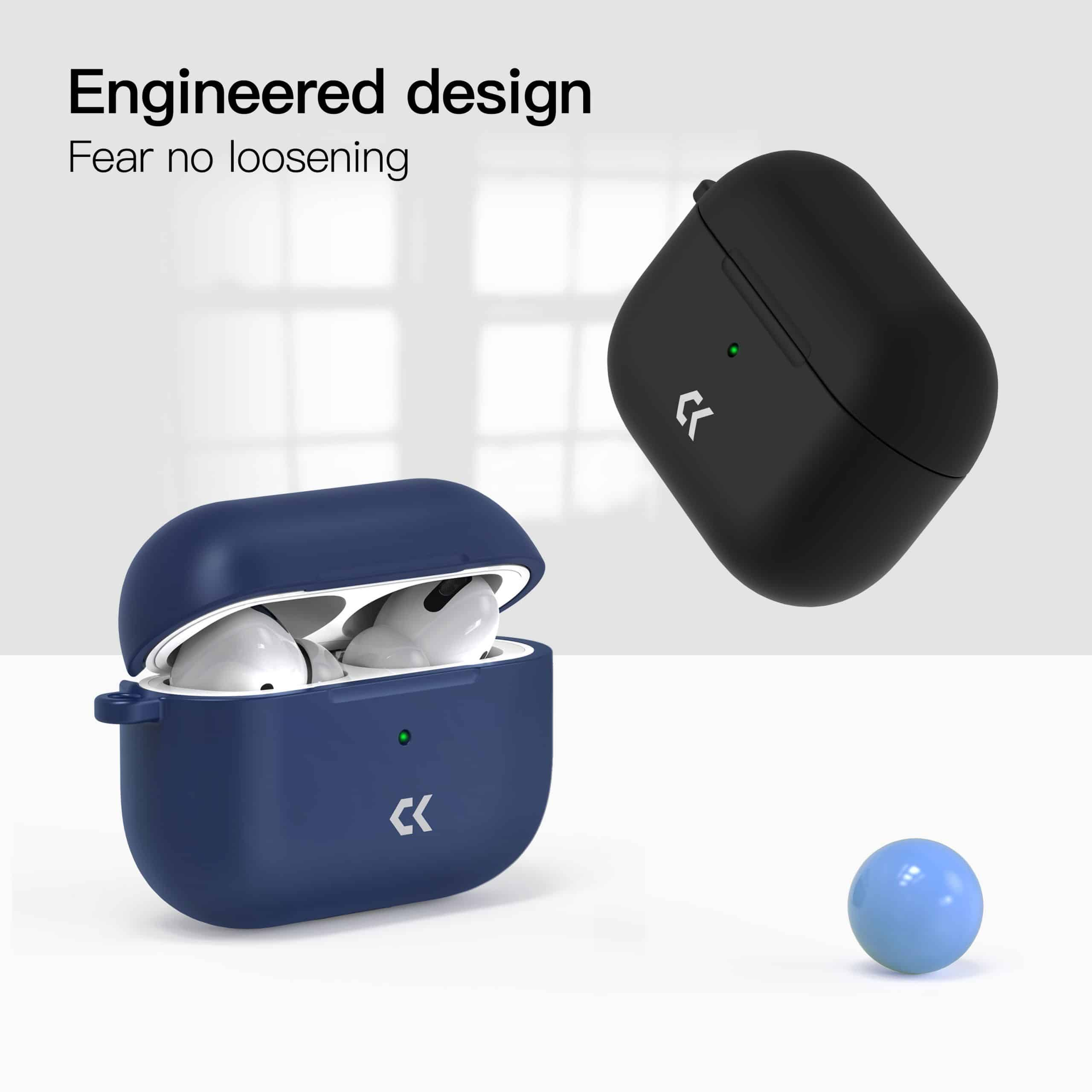 casekoo silicone airpods case